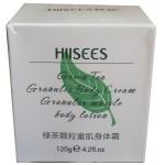 Увлажняющий крем для лица и тела с гранулами зеленого чая. 120мл.
