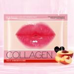 Маска для губ коллагеновая с экстрактом персика IMAGES Beauty Collagen Peach